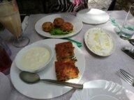 Shapkat mit Yoghurt - Gjirokastra Spezialität