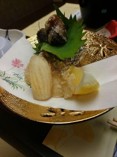 Frittierter Tintenfisch