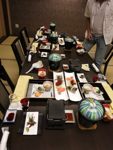 Unser Tisch...