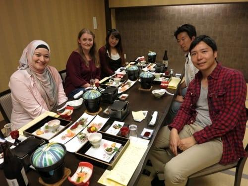Rose, Sakura, Shizuka, Tetsu, Tadashi