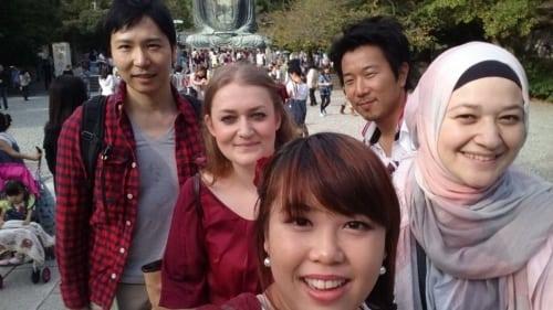 Tadashi, Tetsu, Sakura, Rose, Shizuka