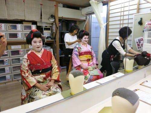 Shizuka und Sakura