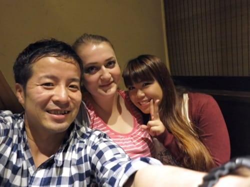 Yoshi, Sakura und Shizuka