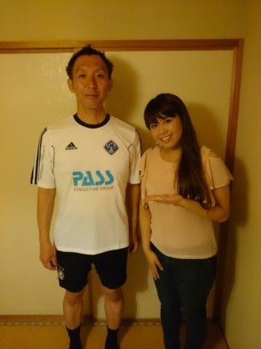 Shuichi im SV Viktoria Trikot!