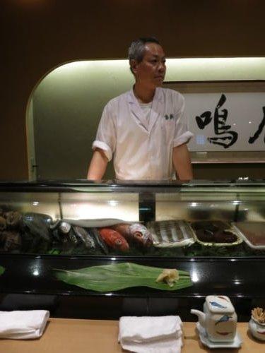 Unser grimmger Sushi Meister