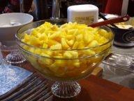 Ananas und Orangen