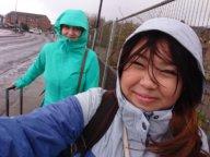Windig und regnerisch