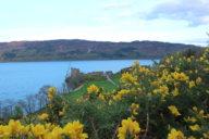 Urquhart Castle und Loch Ness