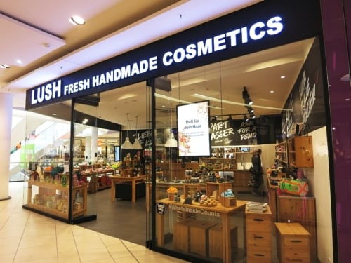 Lush Store in der Skyline Plaza