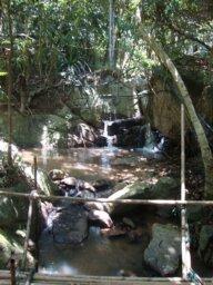 Auf dem Weg zum Wasserfall